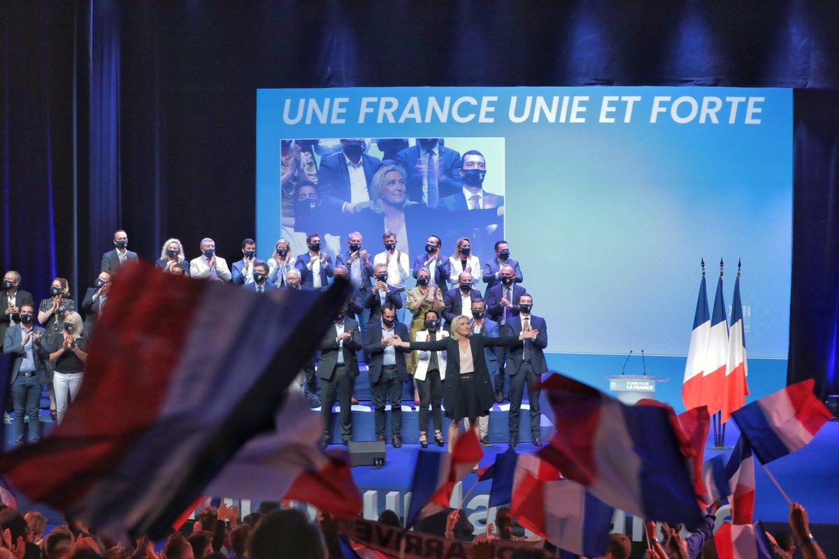 Read more about the article Marine Le Pen et le 18e congrès du Rassemblement national