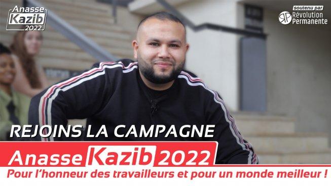 Tribune: «Anasse Kazib doit pouvoir se présenter à la présidentielle 2022 !»