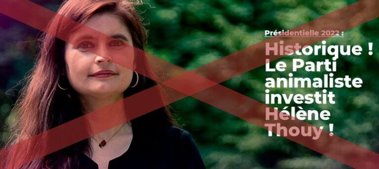 Read more about the article Hélène Thouy, candidate du Parti animaliste à la présidentielle de 2021