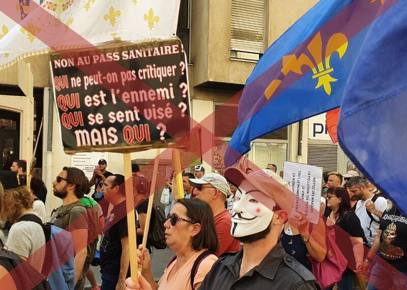 «Qui ?» et les allusions antisémites dans les manifestations anti passe-sanitaire