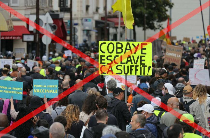 Les manifestations du samedi sont-elles surtout antipass ou antivax ?