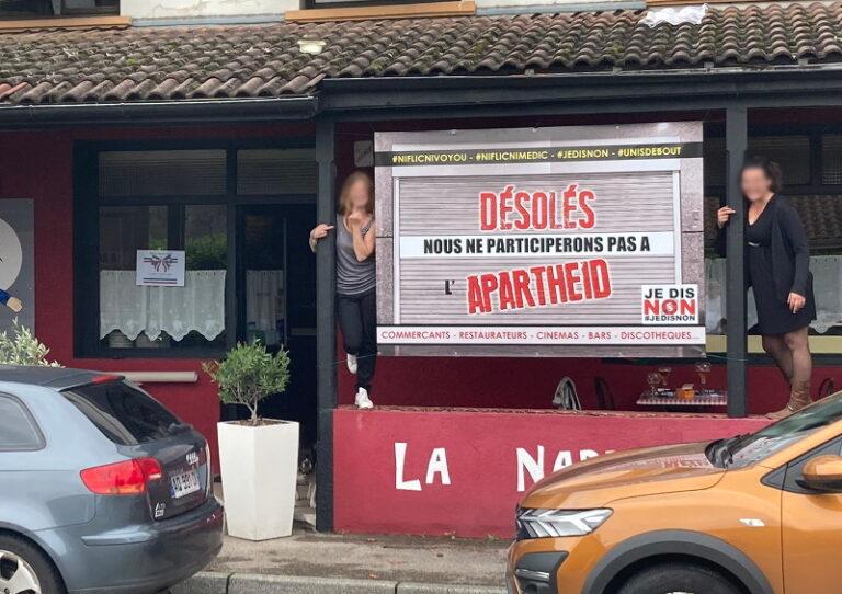 Read more about the article Les anti-pass sanitaire ou le degré zéro du romantisme