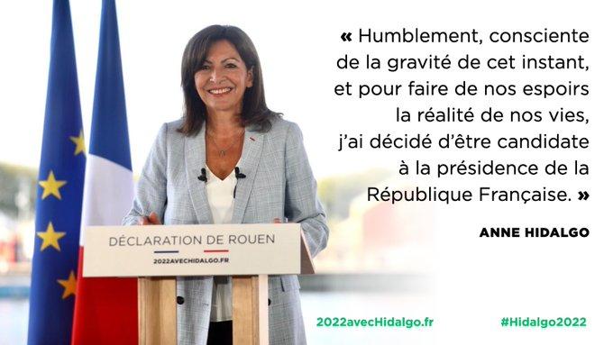 Anne Hidalgo : de la révolution de palais à Paris à candidate à la présidentielle 2022