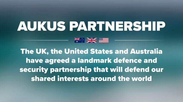 Read more about the article Instauration de l'alliance Australie – Royaume-Uni – Etats-Unis