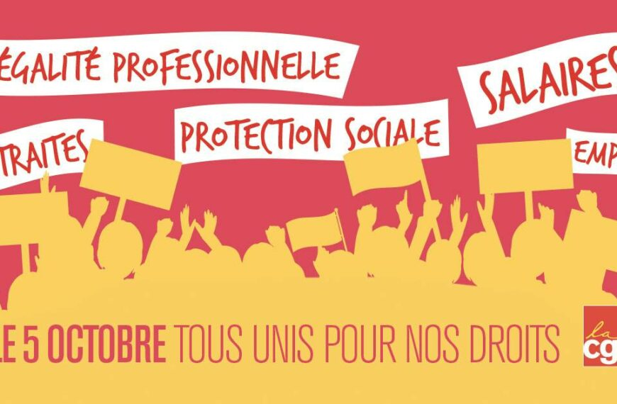 Grève des fonctionnaires le 5 octobre 2021