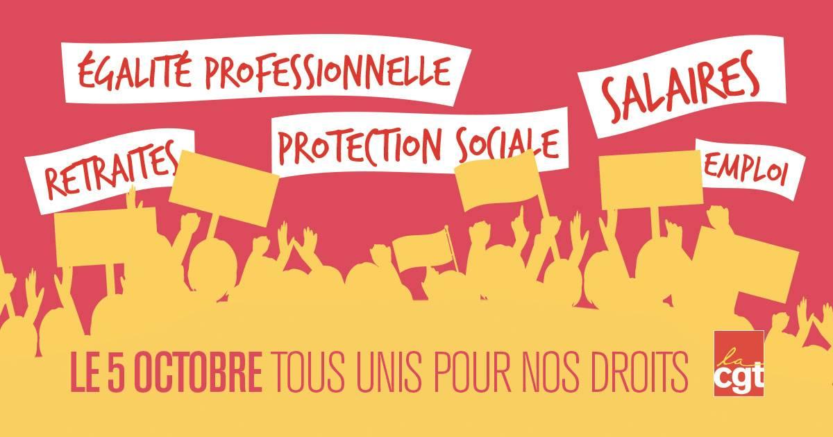 Read more about the article Grève des fonctionnaires le 5 octobre 2021