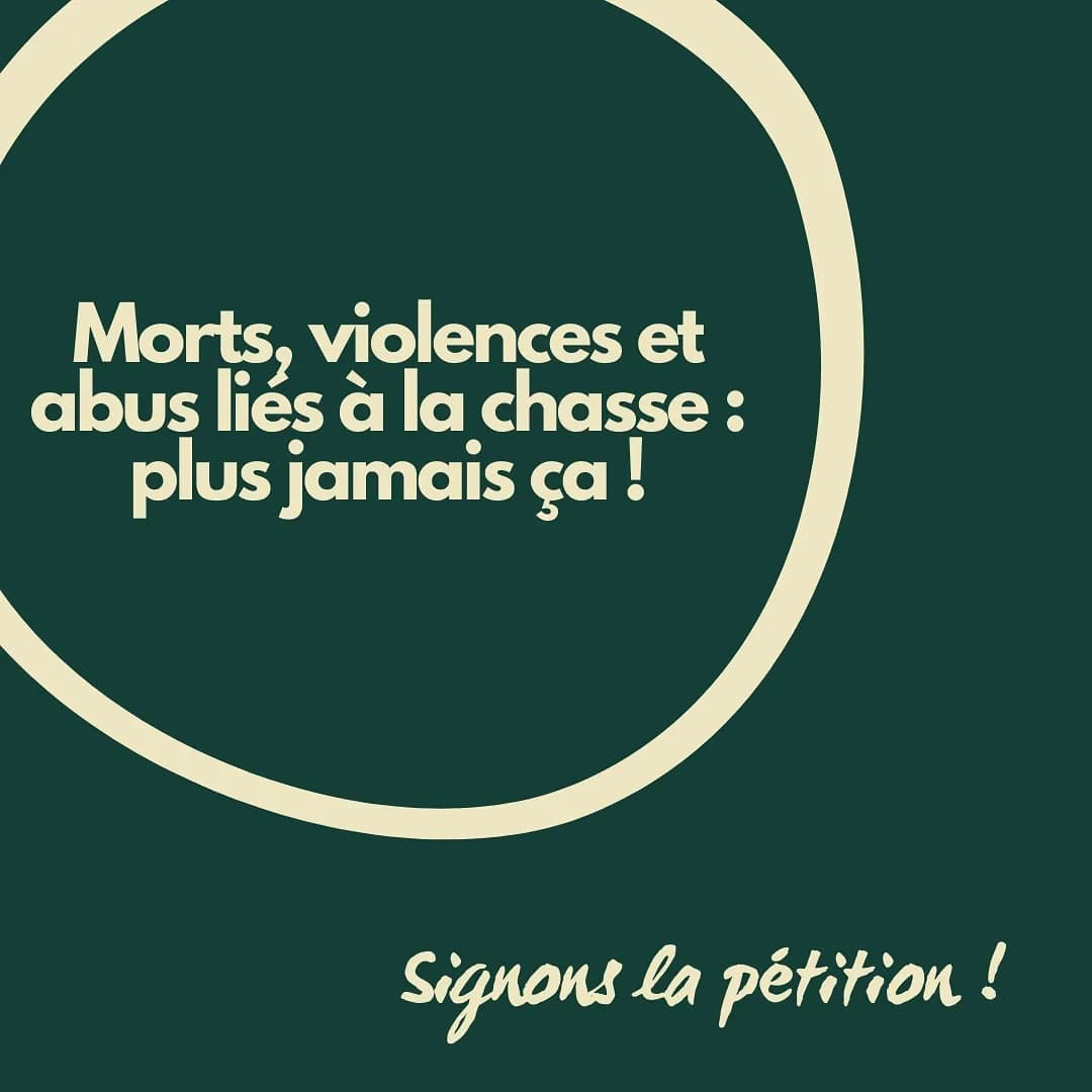 Read more about the article «Morts, violences et abus liés à la chasse: plus jamais ça!»