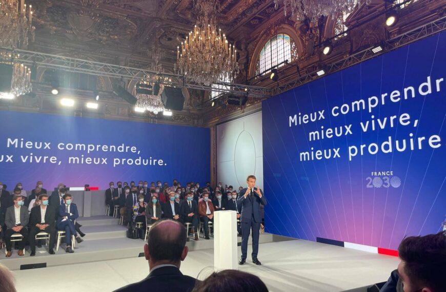 «France 2030» : le projet de restructuration capitaliste d'Emmanuel Macron