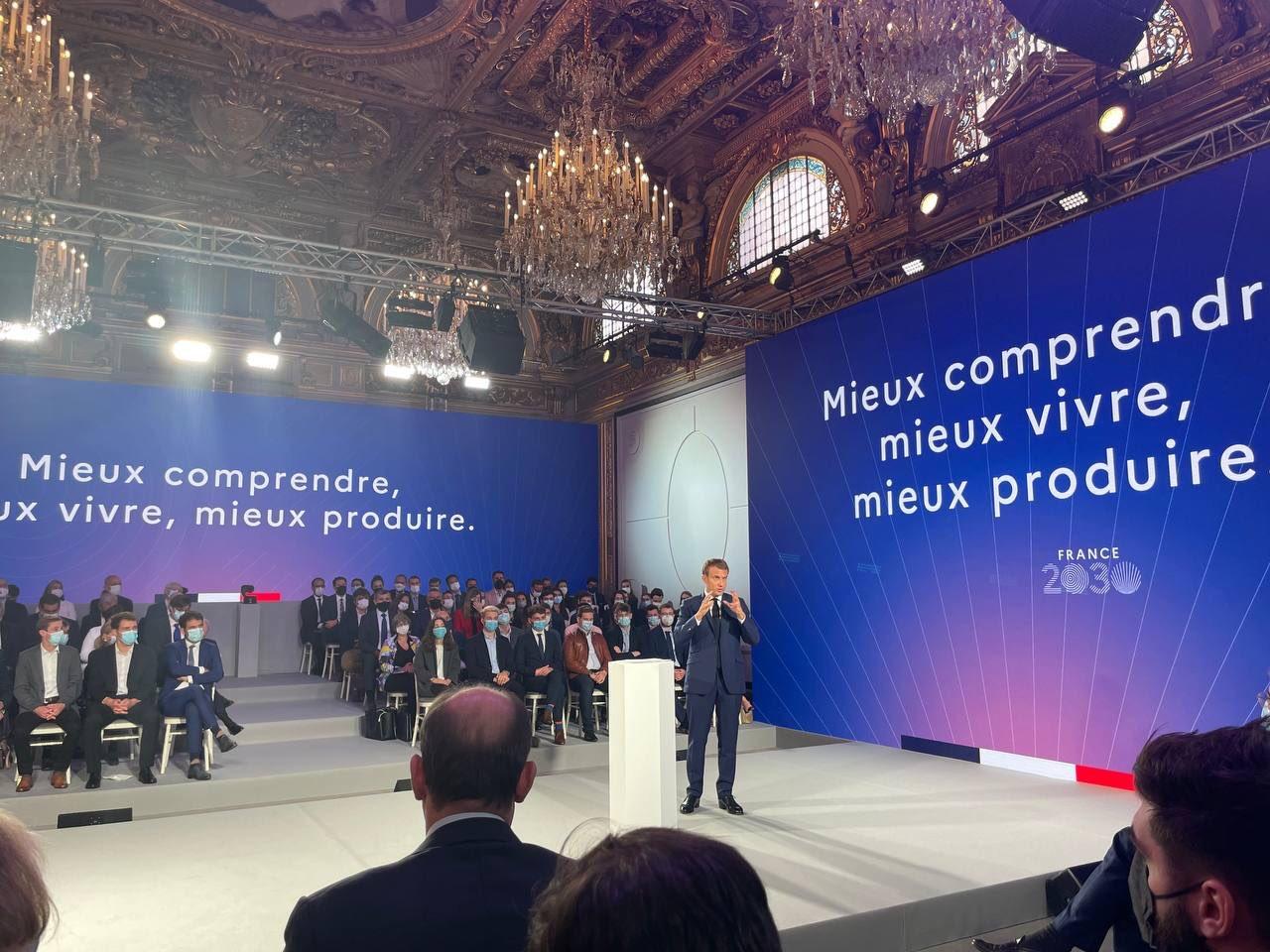 Read more about the article «France 2030» : le projet de restructuration capitaliste d'Emmanuel Macron