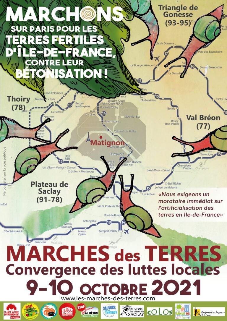 Read more about the article Le dossier complet des «marches des terres» contre l'urbanisation en Île-de-France