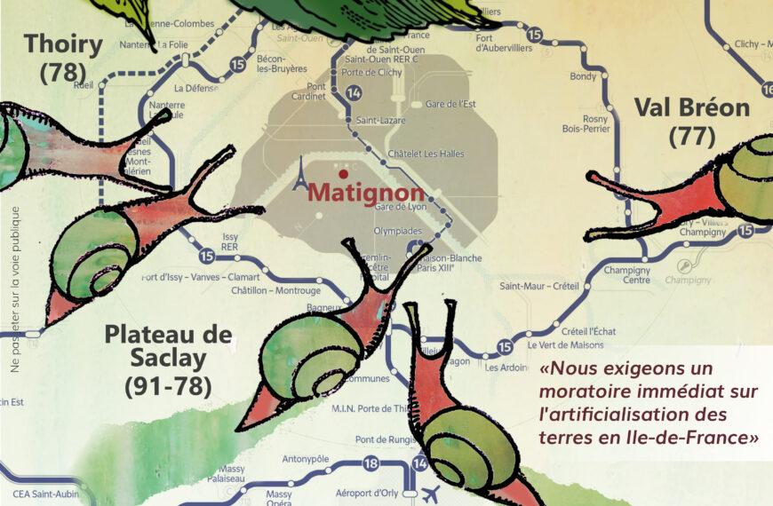 Le dossier complet des «marches des terres» contre l'urbanisation en Île-de-France