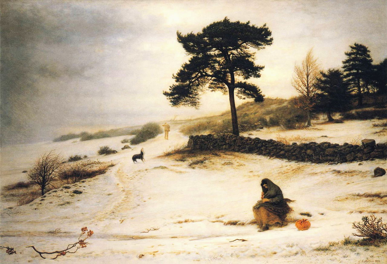 Blow, Blow Thou Winter Wind, 1892, John Everett Millais