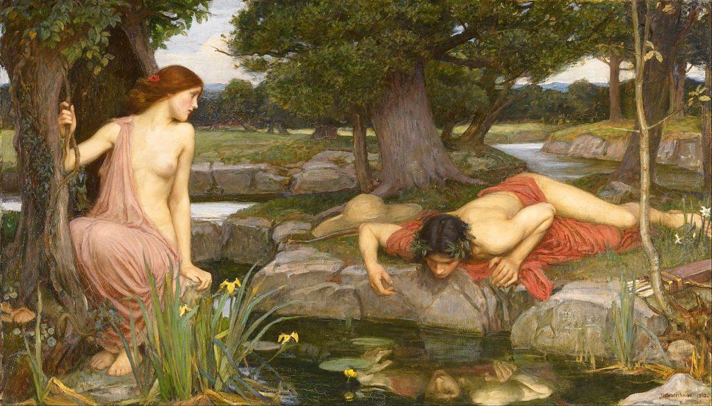 Echo et Narcisse, John Willian Waterhouse, 1903