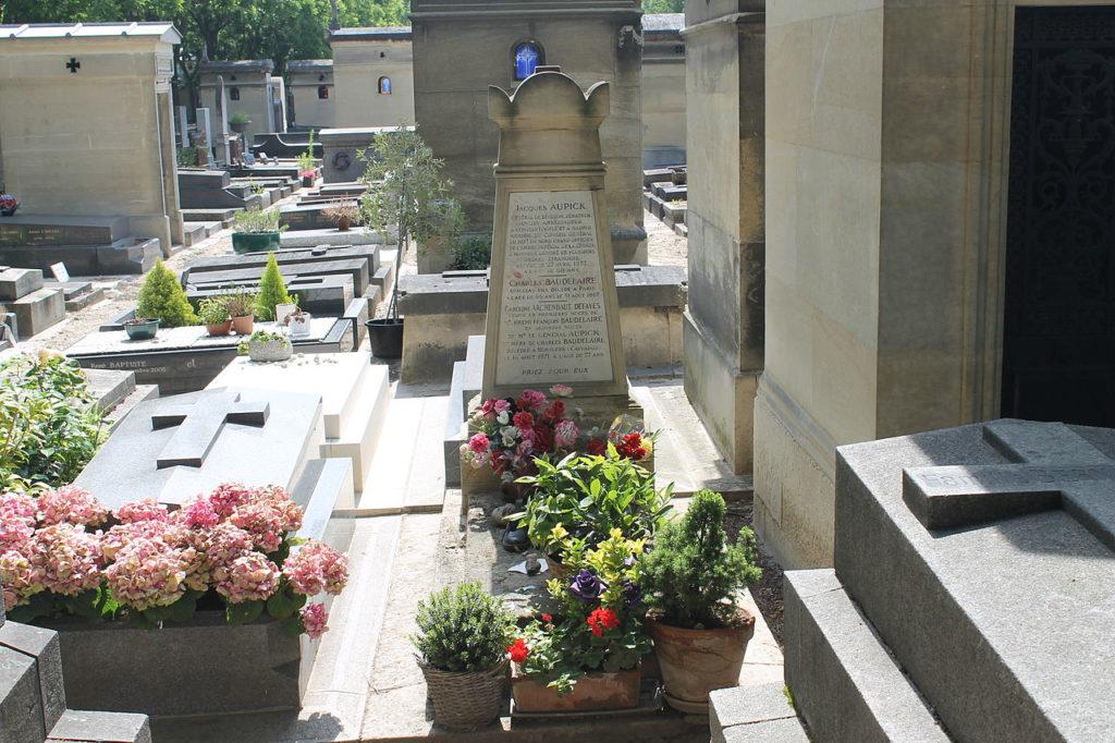 Tombe de Charles Baudelaire à Paris