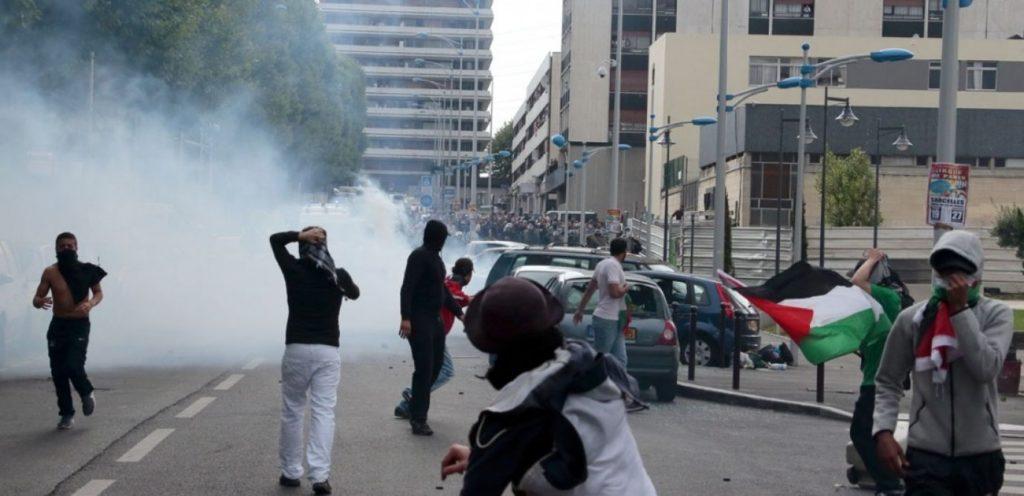 Manifestation pro palestinienne à Sarcelles, juillet 2014