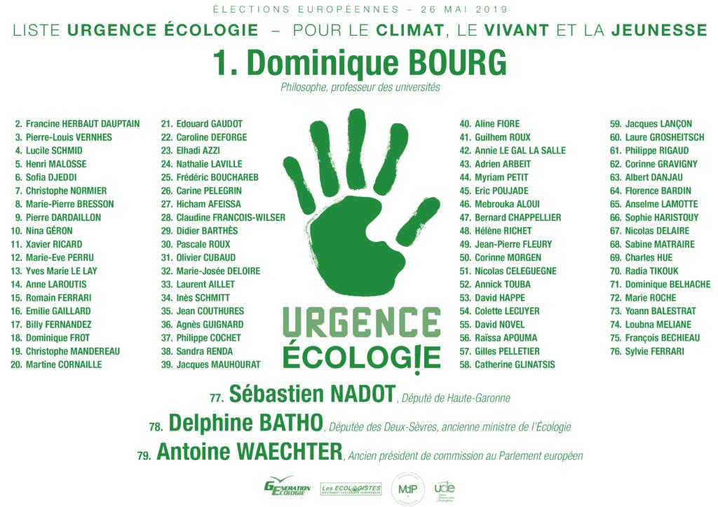 Urgence écologie